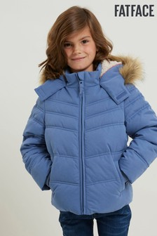 FatFace Blue Ella Coat