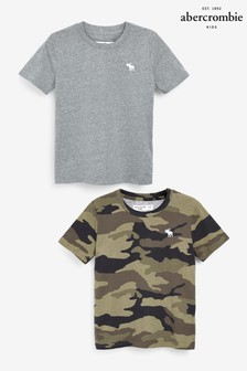Abercrombie & Fitch Camouflage 2 Pack T-Shirts