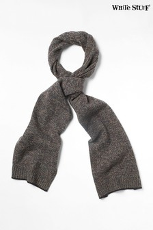 White Stuff Grey Colour Twist Scarf
