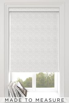 Glamour Pearl White Made To Measure Roller Blind