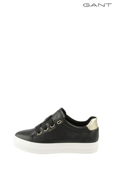 GANT Black Aurora Low Lace Shoes