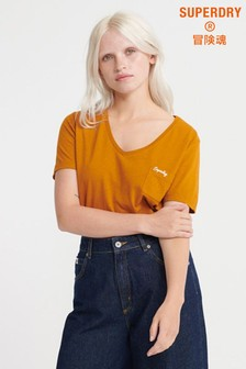 Superdry Orange Label Essential V-Neck T-Shirt