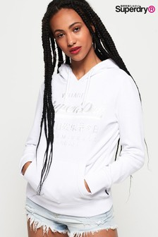 Superdry Premium Goods Tonal Embroidered Hoody