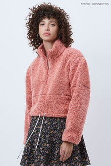 French Connection Anahi Faux Fur Jacket