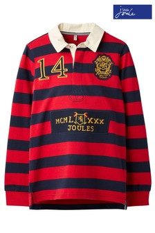 Joules Red Winner Rugby Shirt