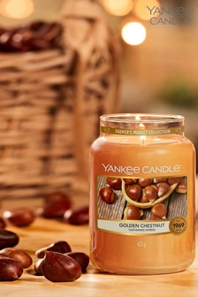 Yankee Candle Classic Large Golden Chesnut Candle