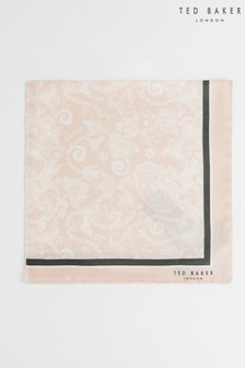 Ted Baker Sidebit Printed Paisley Pocket Square
