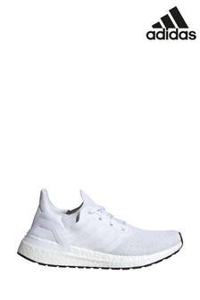 adidas Run White UltraBoost 20 Trainers