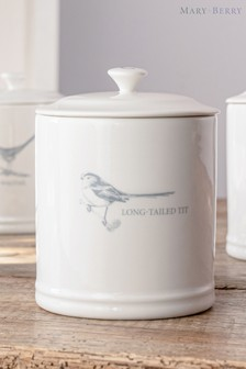 Mary Berry Garden Long Tailed Tit Coffee Canister
