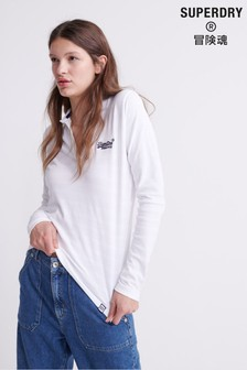 Superdry Long Sleeved Classic Polo Top