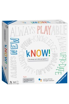 Ravensburger kNOW! The Always Up-To-Date Quiz Game Powered By The Google Assistant