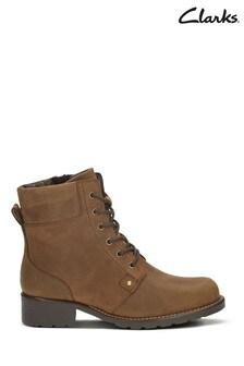 Clarks Brown Snuff Orinoco Spice Boots