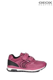 Geox Girls Pavel Pink Shoes