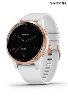 Garmin vívoactive® White/Rose Gold 4S GPS Smartwatch