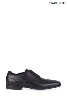 Start-Rite Black Leather Tailor Shoes