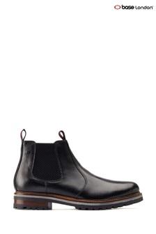 Base London® Black Hadrian Chelsea Boots