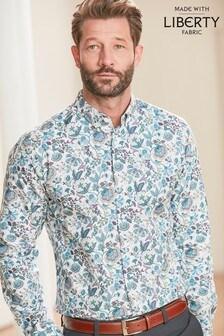 Liberty Large Floral Regular Fit Long Sleeve Shirt