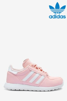 adidas Originals Pink Forest Grove Junior Trainers