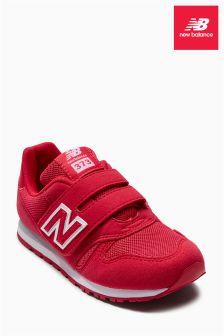 Różowe buty zapinane na 373 rzepy New Balance
