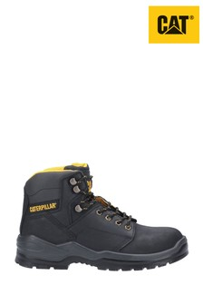 CAT® Black Striver Lace Up Injected Safety Boots