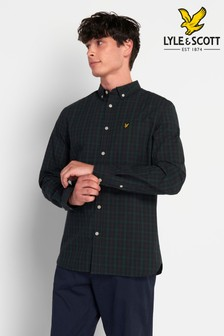 Lyle & Scott Plus Size Check Shirt
