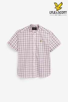 Lyle & Scott Plus Size Check Shirt