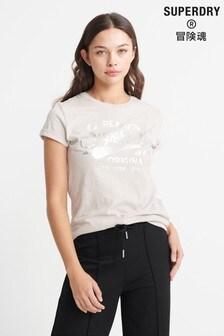 Superdry Real Originals Text Infill T-Shirt