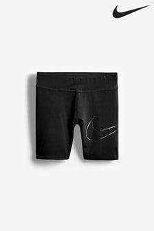 Nike Little Kids Black Cycling Shorts