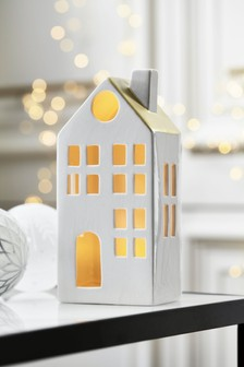 Light Up Ceramic House