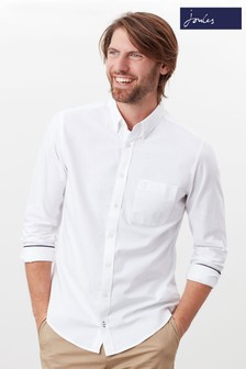 Joules The Slim Long Sleeve Laundered Oxford Shirt