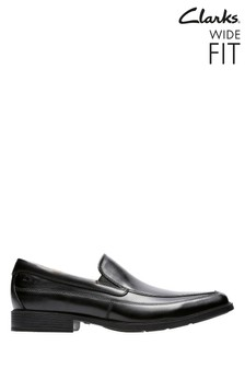 Clarks Black Tilden Free Shoe