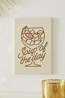 Soup Of The Day Plaque