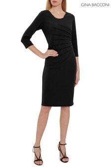 Čierne lycrové šaty Gina Bacconi Ellis