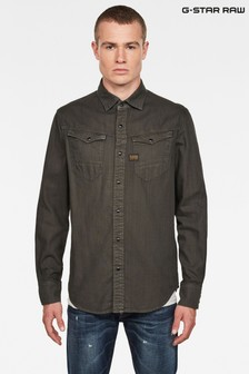 G-Star Grey Arc Slim Shirt