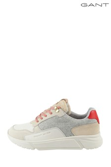 GANT Cream Madison Sneakers