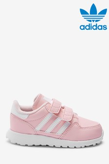adidas Originals Pink Forest Grove Infant Trainers