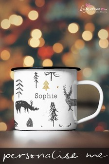 Personalised Woodland Mug by Signature PG