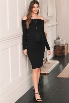 Maternity Bardot Dress