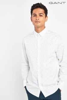 GANT Micro Polka Dot Print Regular Shirt