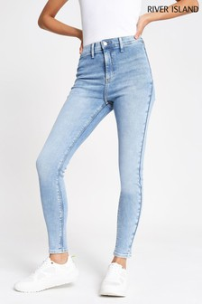 River Island Light Auth Kaia Lesley Jeans