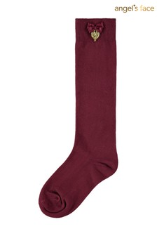 Angel's Face Purple Port Royal Charming Socks