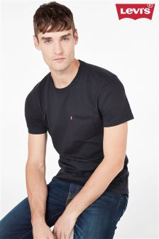 Levi's® Sunset Pocket Black Tee