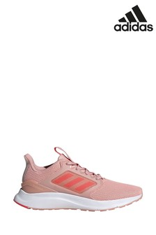 adidas Run Pink/White Energy Falcon Trainers