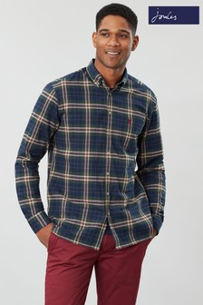 Joules Buchanan Long Sleeve Classic Poplin Shirt