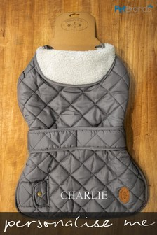 Personalised Medium All Weather Coat by Pet Brands
