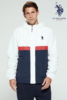 U.S. Polo Assn. Colourblock Windcheater Jacket