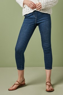 Sculpt Pull-On Cropped Leggings