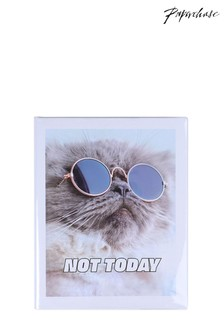 Paperchase 8x10 Not Today Listbook