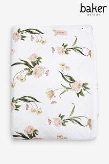 Baker by Ted Baker Floral Blanket