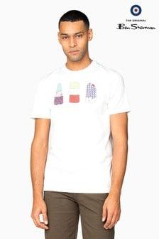 Ben Sherman Main Line White Lollies T-Shirt